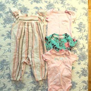 Baby Girl bundle 0-3mo